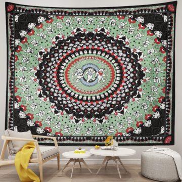 Grateful Dead Dancing Bear Tapestry