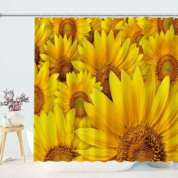 Sunflowers Shower Curtains for Bathroom