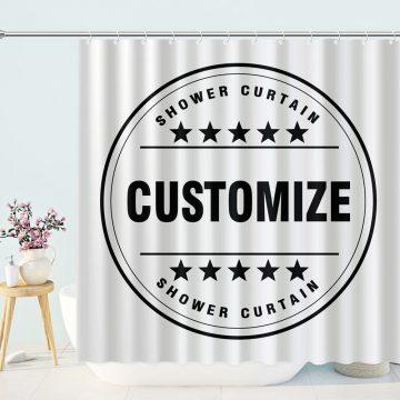 customize shower curtain