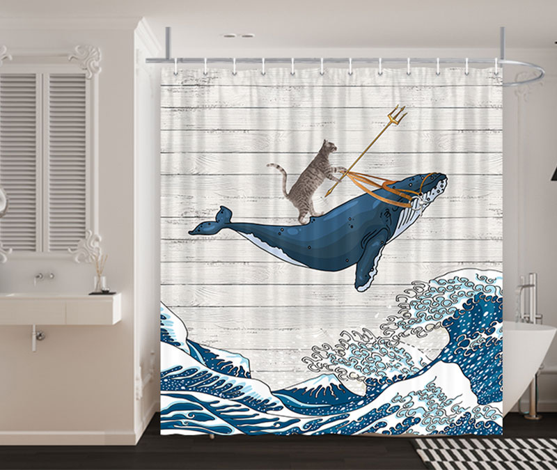 funny shower curtain collection