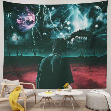 3D Printed Travis Scott Astroworld Tapestry