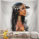 African American Women Elegant Tapestry