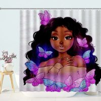 Beauty-African-Girl-With-Butterfly