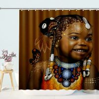 Black-Afro-Kids-Shower-Curtain