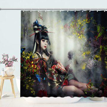 Garnidelia Maria Cosplay Shower Curtain