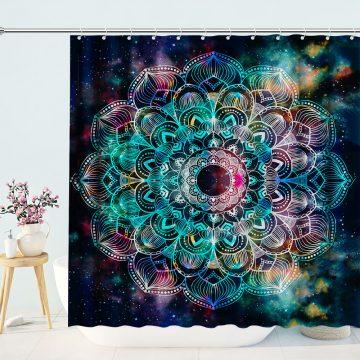 India Fancy Mandala Shower Curtain