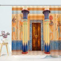 Mystic-Ancient-Church-Wall-Shower-Curtain