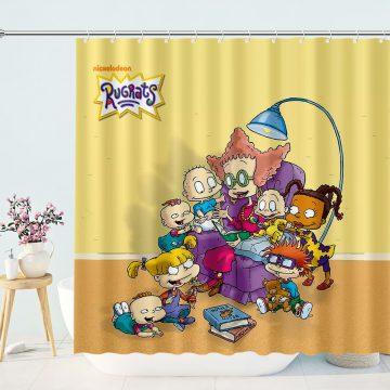 Cartoon Nickelodeon Rugrats Shower Curtain