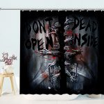 Temporary Tatoos The Walking Dead Shower Curtains