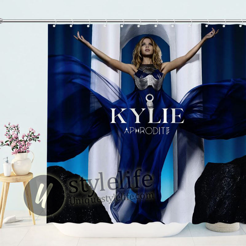 The Best of Kylie Minogue Bathroom Shower Curtain