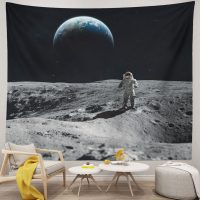 Cool-Astronaut-Landing-Moon-Space-Tapestry