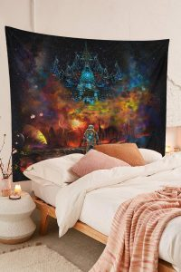 Cool-Lost-Astronaut-Uv-Blacklight-Fluorescent-Psychedelic-Tapestry-01
