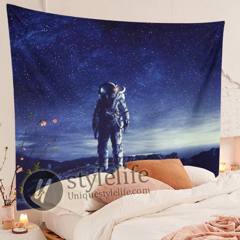 Cool Space Tapestry Astronaut Wall Hanging