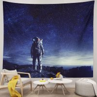 Cool-Space-Tapestry-Astronaut-Wall-Hanging