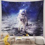 Handmade Space Astronaut Wall Art Tapestry