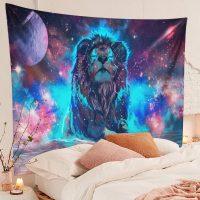 Handmade-Starry-Fantasy-Galaxy-Lion-Tapestry-01