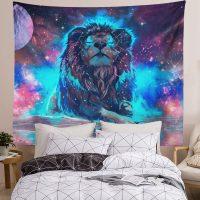 Handmade-Starry-Fantasy-Galaxy-Lion-Tapestry-02