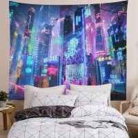 Japanese-Tapestry-Cyber-Punk-Cityscape-Wall-Tapestry-03