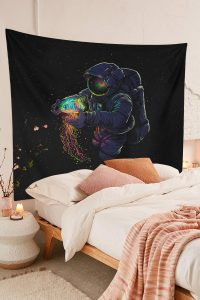 Large-Astronaut-Jellyfish-Tapestry-Trippy-Space-Wall-Galaxy-Wall-Hanging-01