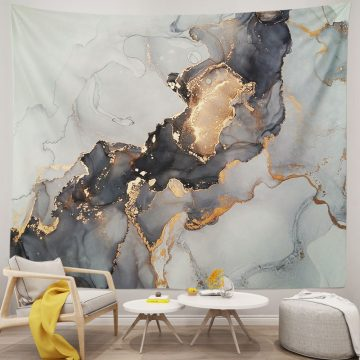 Luxury Texture Marble Dorm Tapestry
