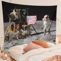 Moon-Landing-Astronaut-Tapestry-On-Lunar-Surface-USA-Flag-02
