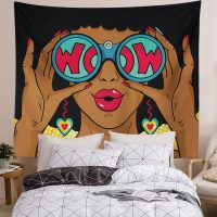 Sexy-African-Woman-Surprised-With-Open-Mouth-Tapestry-03