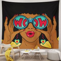 Sexy-African-Woman-Surprised-With-Open-Mouth-Tapestry