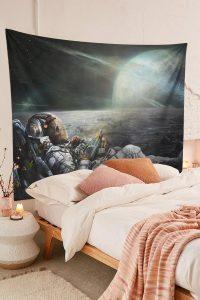 Space-Galaxy-Trippy-Skull-Astronaut-Tapestry-Bedroom-Room-Decor-01