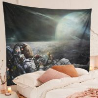 Space-Galaxy-Trippy-Skull-Astronaut-Tapestry-Bedroom-Room-Decor-02
