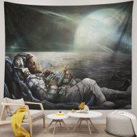 Space-Galaxy-Trippy-Skull-Astronaut-Tapestry-Bedroom-Room-Decor