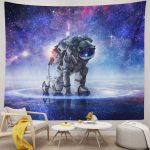 Space Wall Hanging Astronaut Tapestry