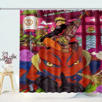 Anime Naruto Shippuden Shower Curtain