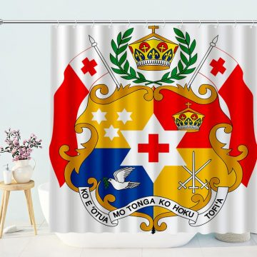Coat of arms of Tonga Shower Curtain