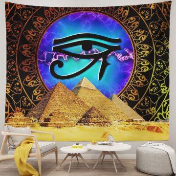 Ancient Egyptian Eye Of Horus Tapestry