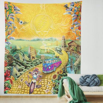 Grateful Dead Golden Road Psychedelic Tapestry