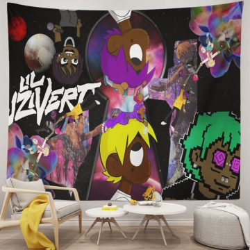 Lil Uzi Vert Psychedelic Tapestry Wall Hanging